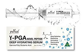 Pureal, Anti Aging Hyaluronic Acid Gamma Pga Deep Hydrating Serum, 5m L / 0.17 Fl.Oz by Shift Life Mate