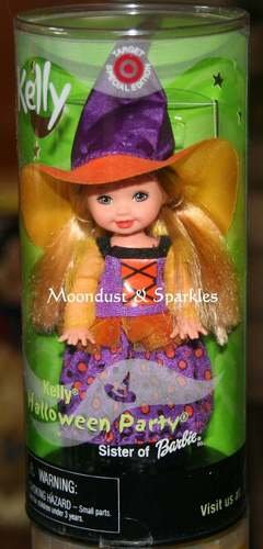 Kelly as a witch - Halloween Party - RARE -