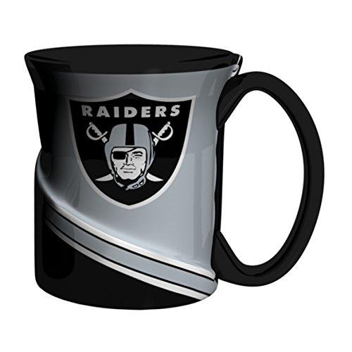 NFL Oakland Raiders Sculpted Twist Mug, (Oakland Raiders Nfl Coffee)