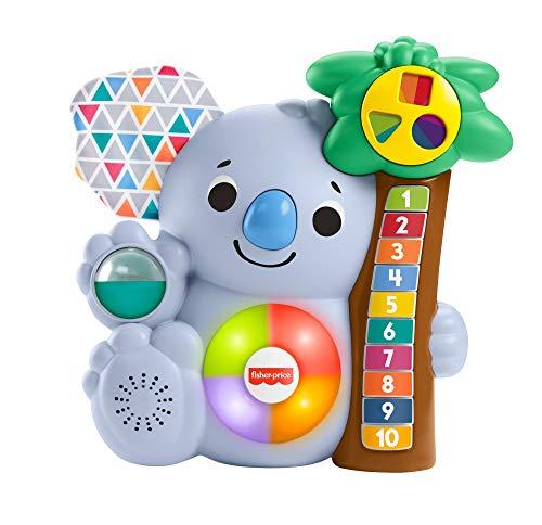 Fisher-Price Fisher-Price GRG67 BlinkiLinkis - Koala de Contar Juguete Musical para niños