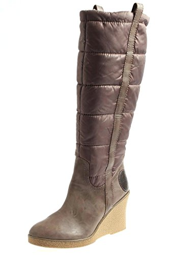 Laura Lenti Botte D'Hiver Chaussures femme pour hiver marron doublé 1603