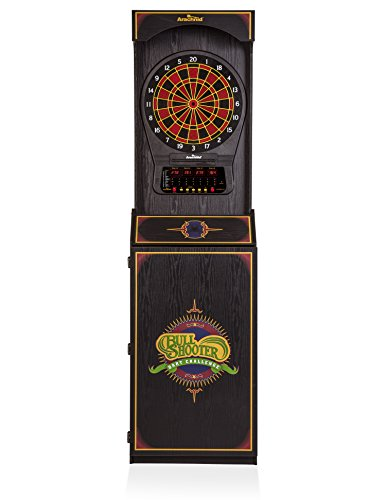 Arachnid Cricket Pro 650 Standing Electronic Dartboard with 24 Games, 132 Variations, and 6 Soft-Tip Darts Included