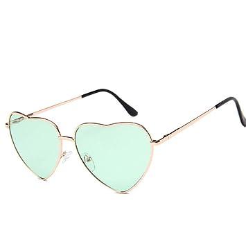 WDDYYBF Gafas De Sol, Vintage Corazón Gafas De Sol Mujer ...