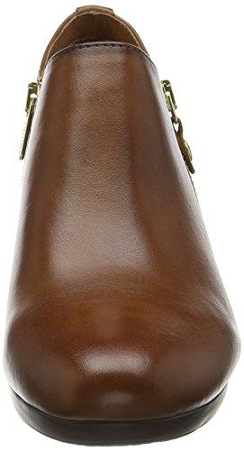 para Zapatos i16 W9c tacón mujer Salerno Cuero de Pikolinos Marrón Up7CYqHwnx