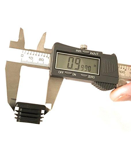 (100 Pack) (14-20 GA) Square Plastic Polyethylene Plug 1''x 1'' by Brewdogsupplies (Image #3)