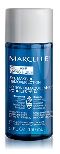 Marcelle Oil-Free Eye Makeup Remover Lotion, Hypoallergenic and Fragrance-Free, 150 mL