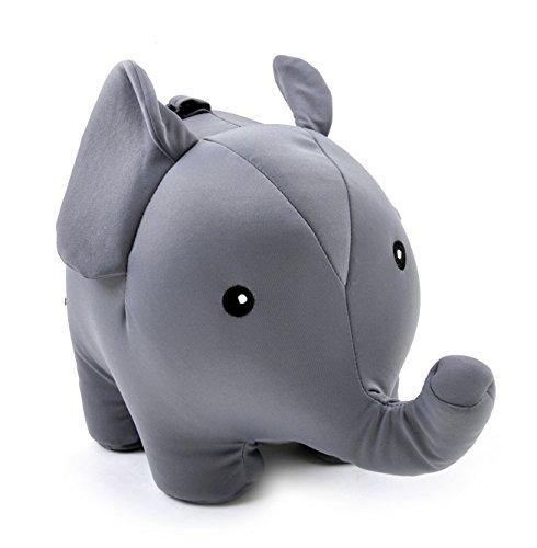 Kikkerland Zip And Flip Elephant Travel Pillow