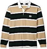 Lacoste Mens Long Sleeve Heavy Jersey Bold Stripe