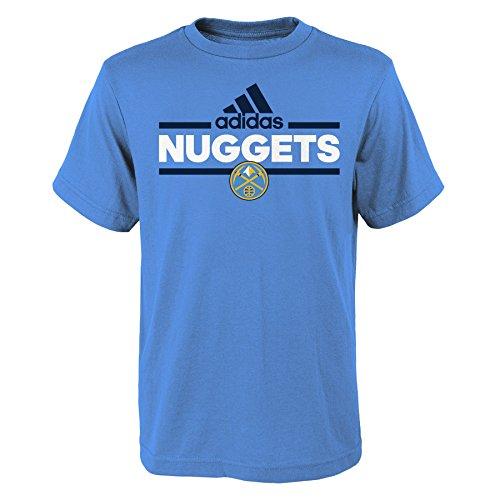 NBA Denver Nuggets Boys 8-20 Replen Mini Dassler Short Sleeve (Denver Nuggets Basketball)