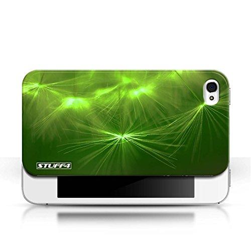 Etui / Coque pour Apple iPhone 4/4S / Vert conception / Collection de Allumez la vie
