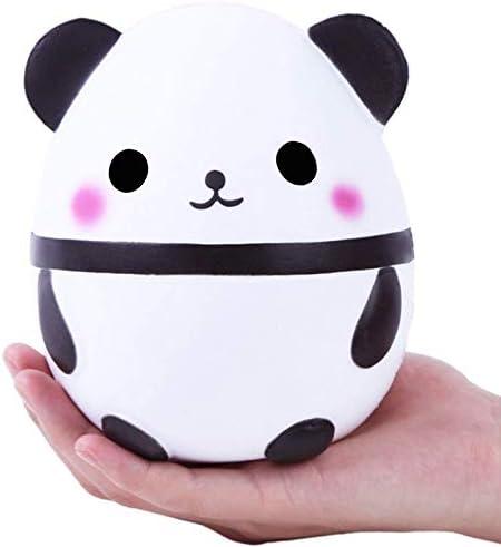 スローリバウンド玩具、ジャイアントパンダのかわいいスローリバウンドシューズシミュレーション玩具、まで軽減ストレス子供のギフトのためのスローライジングクリエイティブ、動物の人形ソフトスクイーズ玩具、 (Color : Panda White)