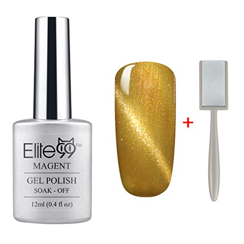 Elite99 Magnetic 3D Cat Eye Gel Polish Soak Off UV LED Nail