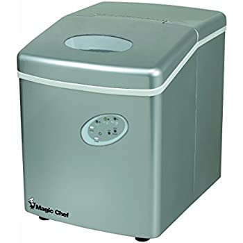 Amazon Com Magic Chef Mcim22ts 27lb Ice Maker Stainless