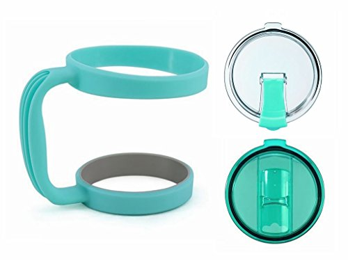 Handle for YETI ,30OZ Rambler Tumbler (Handle only-Tumbler not included) (NEW GREEN SET)