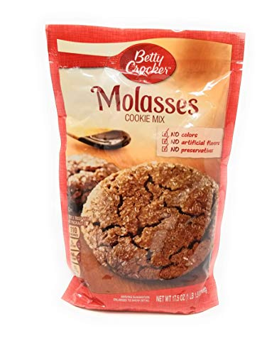 Betty Crocker Cookie Mix Molasses 17.5 oz Pouch (pack of 6) by Betty Crocker (Image #1)