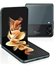 SAMSUNG Galaxy Z Flip 3 5G Factory Unlocked Android Cell Phone US Version Smartphone Flex Mode Intuitive Camera Compact 128GB Storage US Warranty, Green