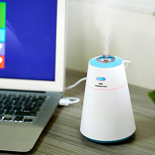 WitMoving Cool Air Humidifier USB Rechargable Ultrasonic Mist Whisper-Quite For Babies and Bedroom by WitMoving (Image #3)