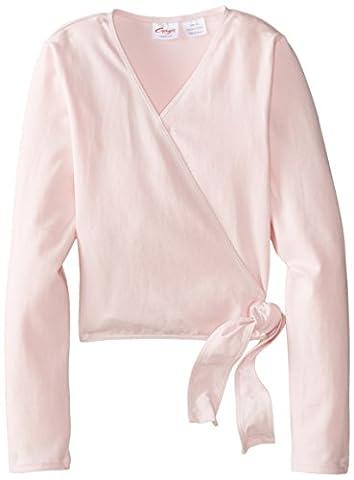 Capezio Big Girls' Classics Wrap Top, Pink, Medium - Capezio Wrap Skirt