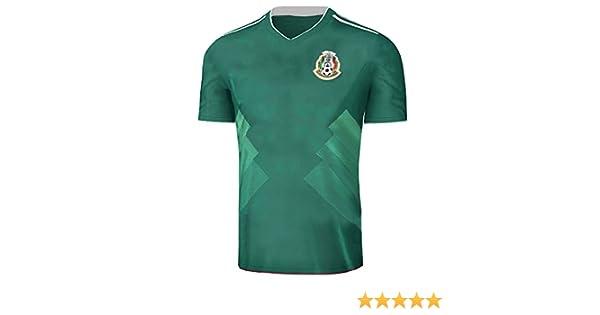 Fangzhou-Sports 2017 2018 México Camiseta de la selección Nacional de  fútbol Fútbol Jersey Temporada 9513b09301b22