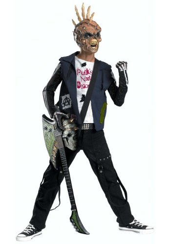 Punk  (Rock Star Costumes With Shirt)