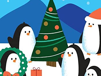 Amazon.com Gift Card In A Greeting Card (Holiday Penguins Design) 1