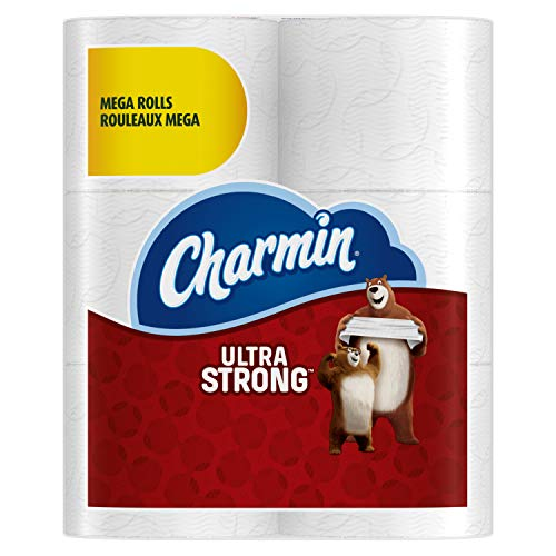 (Charmin Ultra Strong Mega Roll Toilet Paper, 24 Count)