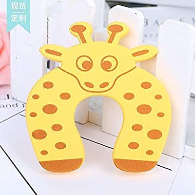 SUNMART USA 2pcs Baby Child Proofing Door Stoppers Finger Safety Guard Random Holder Lock Safety Guard Finger Protect Toy for Baby: Toys & Games