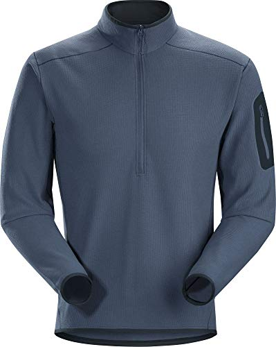 Fleece Arcteryx Jacket - Arc'teryx Delta LT Zip Neck Men's (Neurostorm, Medium)