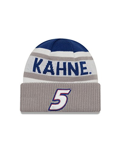 NASCAR Hendrick Motorsports Kasey Kahne Biggest Fan 2.0 Knit Beanie, One Size, - Kahne Cap Kasey