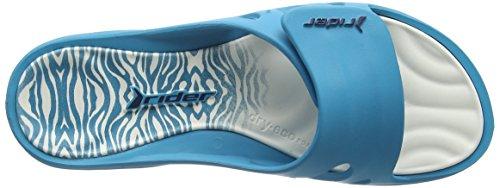 Rider Key Viii Fem Ff - Sandalias Mujer Varios Colores - Mehrfarbig (blue white 8382)
