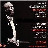 100th Anniversary Edition - Yevgeny Mravinsky (6 CD Set)