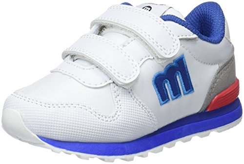 MTNG Jungen Menta Fitnessschuhe Mehrfarbig (Action Pu Blanco N Y L O N Blanco Blanco)