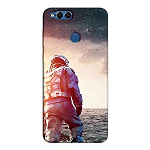 Cover It Up - Space Water Walk Honor 7x Hard Case