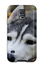 (EzPNLKL6457FHAVD)durable Protection Case Cover For Galaxy S5(wolf Animal Wolf)