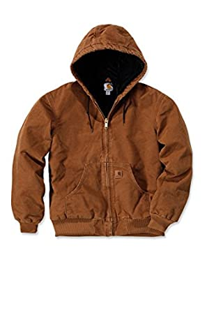 100% de alta calidad elige el más nuevo excepcional gama de colores Carhartt - Abrigo marrón X-Large