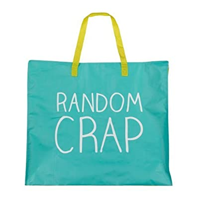 'Random Crap' Large Happy Jackson Shopper Bag in Bag for Life Style by Wild and Wolf - more-bags