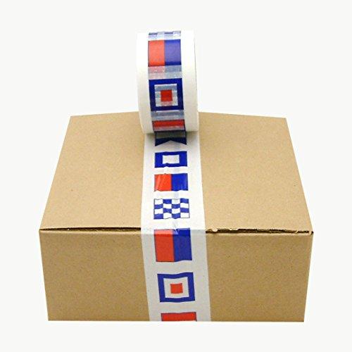 Custom Printed Packaging Tape - J.V. Converting SLPT20/BOATF225 JVCC SLPT20 Designer Packaging Tape: 2