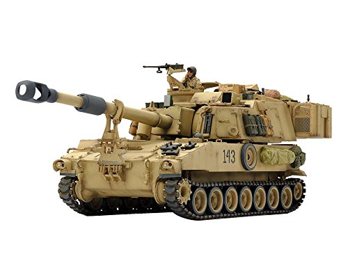 Tamiya 1/35 M109A6 Paladin US Self-Propelled - Self Propelled Howitzer