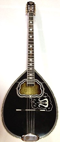 Greek 8-String Bouzouki w/ Soft Case - Black by Matsikas