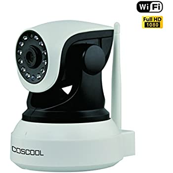 Amazon Com Coscool Ip Camera 1080p Wireless Wifi