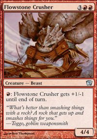 Magic: the Gathering - Flowstone Crusher - Ninth Edition - Foil (Flowstone Crusher)