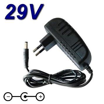 TopChargeur - Adaptador de alimentación, Cargador de 29 V para ...