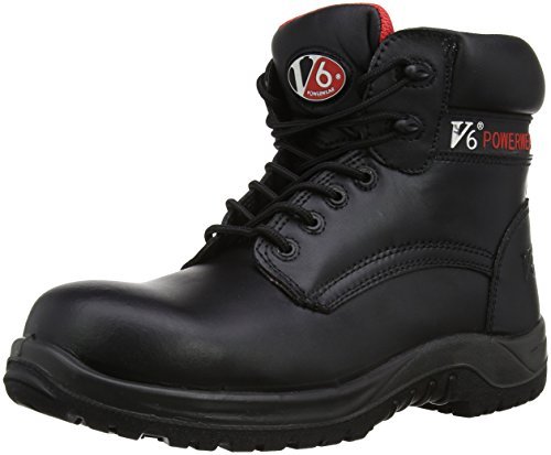 UK Boot Noir Metal EU 13 Otter Black Free 48 Safety Black V12 6Yqgg