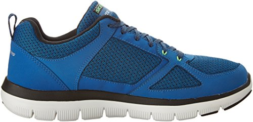 Skechers Sport Mens Flex Advantage 2.0 La Calce Blu Oxford Di Happs