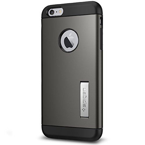 Spigen Slim Armor iPhone 6S Plus Case with Kickstand and Air