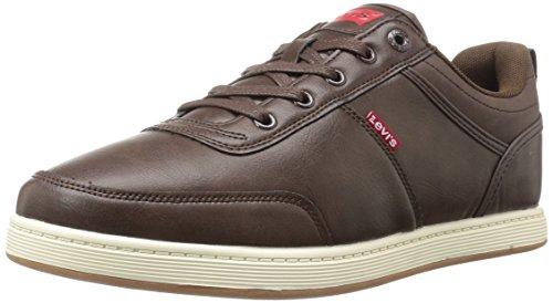 Levis Men's Desoto Burnish Fashion Sneaker - Brown/Navy -...