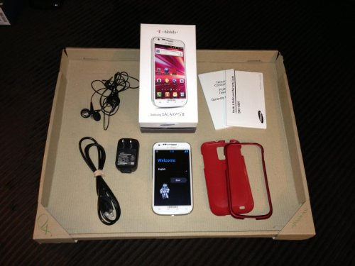 Samsung Galaxy S II SGH-T989 16GB (White) Android Smartphone for T-Mobile