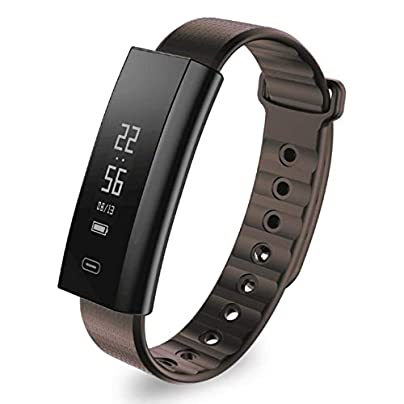 DMMDHR Smart Wrist Band Heart Rate Blood Pressure Oxygen 0 87 OLED Smart Bracelet Wristband Fitness Tracker Estimated Price £92.30 -