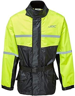 JDC Chaqueta De Lluvia Para Moto Impermeable De Alta Visibilidad ...