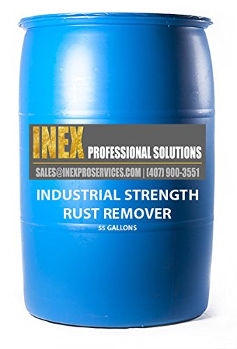 INEX Industrial Rust Remover - PRO Peck 1 Professional Grade (55 -